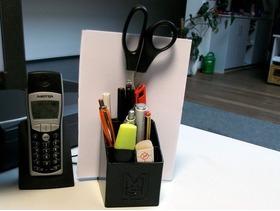书桌必备之多功能收纳盒